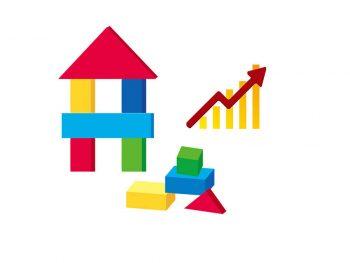 不動産価格高騰のイメージ画像